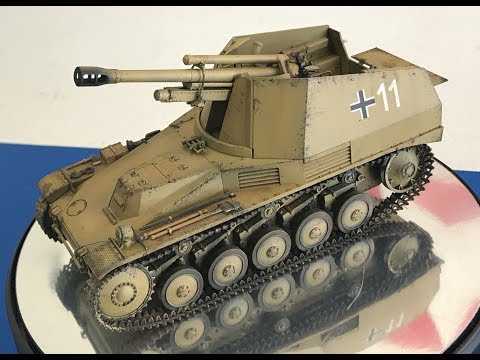 Building the Tamiya new 1/35 Wespe Italian Front step by step