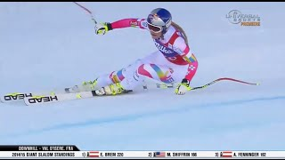 Lindsey Vonn - Wins Val d'lsere Downhill - U.S. Ski Team