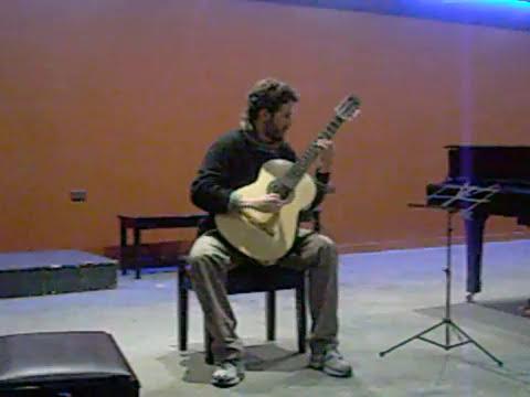 Danza Característica Leo Brouwer por Francisco Aller