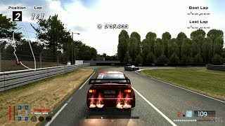 Gran Turismo 4 - Alfa Romeo 155 2.5 V6 TI Race Car '93 (HYBRID) PS2 Gameplay HD