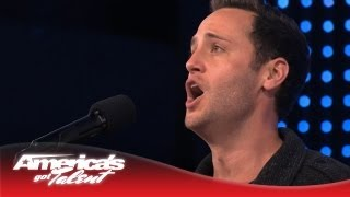 "Branden James - Stunning Opera Performance of ""Nessun Dorma"" - America's Got Talent 2013"