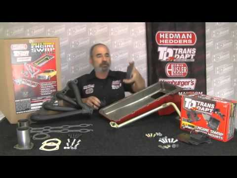 LS Engine Swap Kits for GM-A Body Cars by Hedman