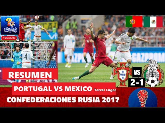 RESUMEN LINK, Alemania vs México 4-1 Copa FIFA Confederaciones Rusia 2017