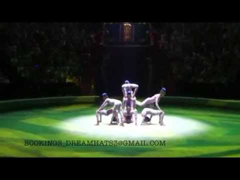 DREAM CIRCUS ETHIOPIA PRODUCTION PRESENT 8 GIRLS CONTORTION