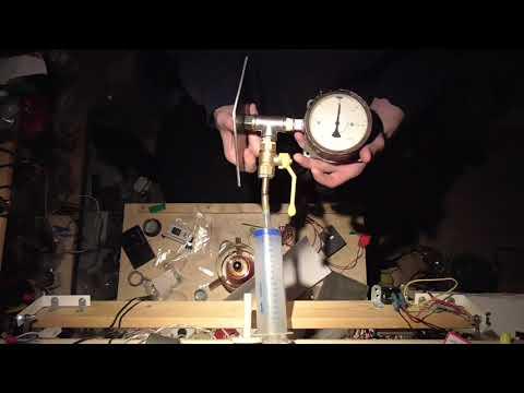 Измеряем, какое разрежение может создать шприц Жане