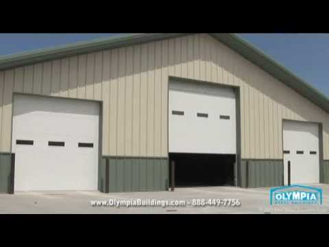 60 x 80 Metal Building One Contractor's Search For Perfection - YouTube