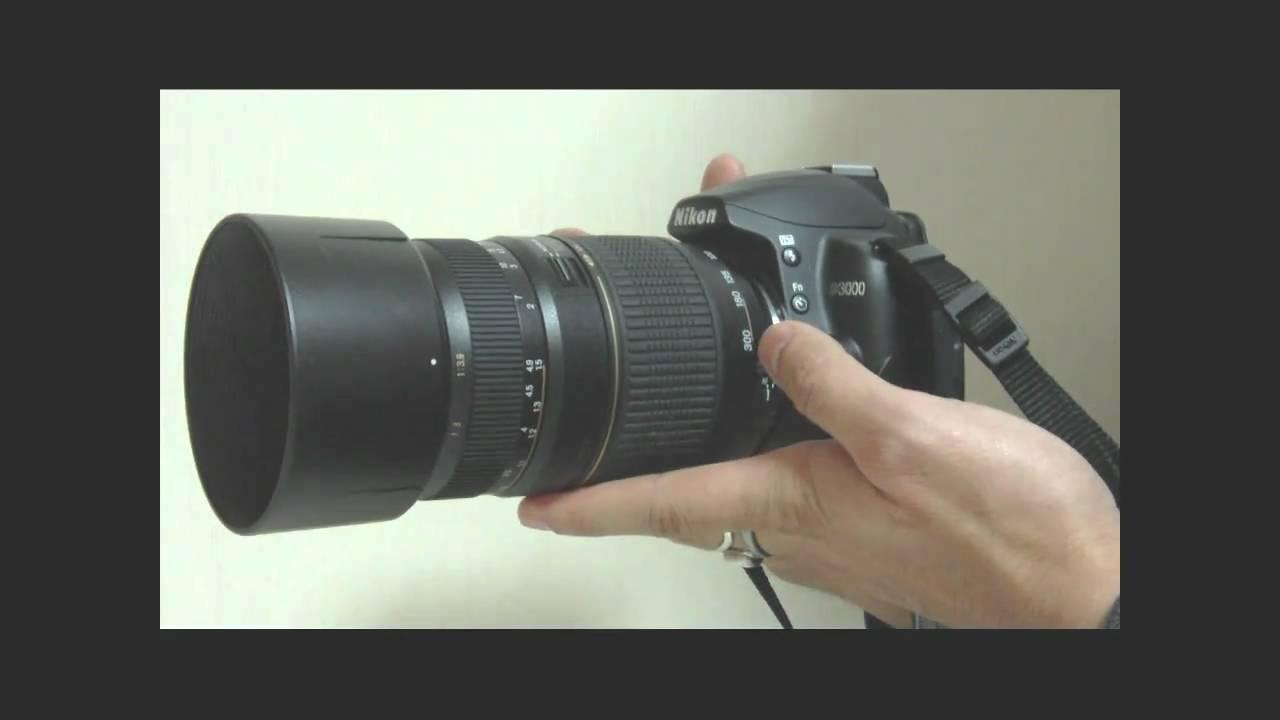 Zoom Nikon D3000 Nikon D3000 With Tamron A17