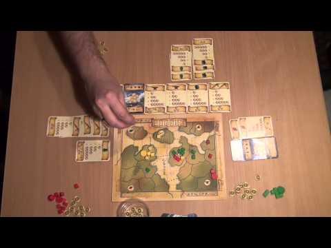 Восьмиминутная империя - играем в настольную игру
