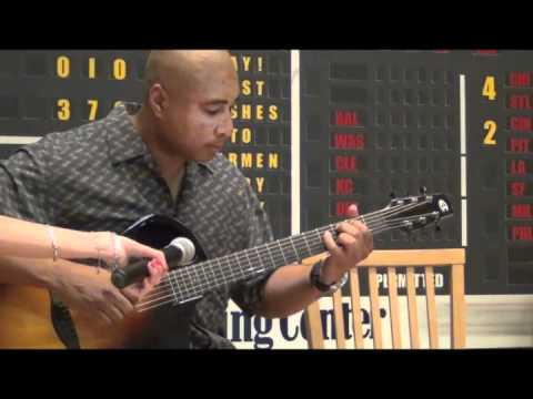 Bernie Williams Plays Take Me Out to the Ball Game on Guitar