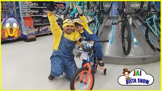 Children BICYCLE Shopping | Kids Learns How To Ride A Bike | Jai Bista Show