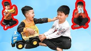 Em Út Tham Ăn - Bài Học Cho Bé ♥ Min Min TV Minh Khoa