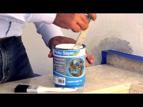 C mo reparar una pared con humedad - Como arreglar una pared con humedad ...