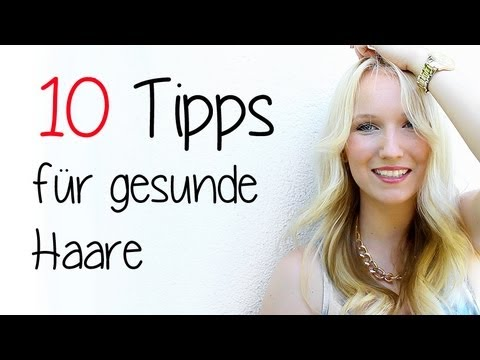 meine 10 tipps f r sch ne gesunde haare youtube. Black Bedroom Furniture Sets. Home Design Ideas
