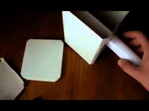 Как из бумаги сделать молот тора видео