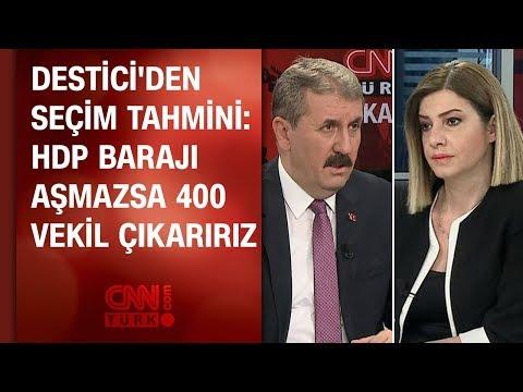 Destici'den seçim tahmini: HDP barajı aşmazsa 400 vekil çıkarırız