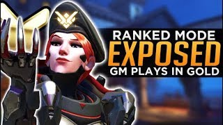 Overwatch: What I Learned as a GM in GOLD! - Ranked Exposed!