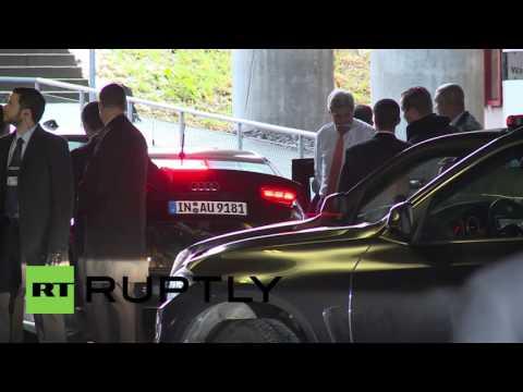 Switzerland: Lavrov and Kerry depart Zurich hotel after Syria, Ukraine talks