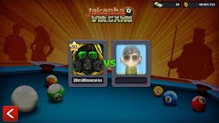London to Jakarta Unlimited coin of 8 ball pool (unique id:2721557013)