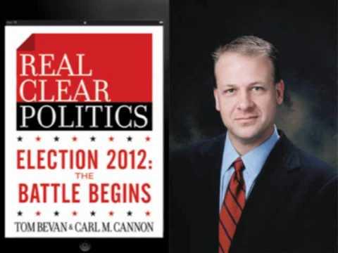Real Clear Politics Executive Editor Tom Bevan on WMAL 08-16-12