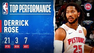 Derrick Rose Knocks Down Game Winner, POURS in 17 PTS in 4th Quarter!
