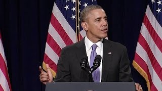 President (Obama) Speaks at the House Democratic Issues Conference  2/14/14
