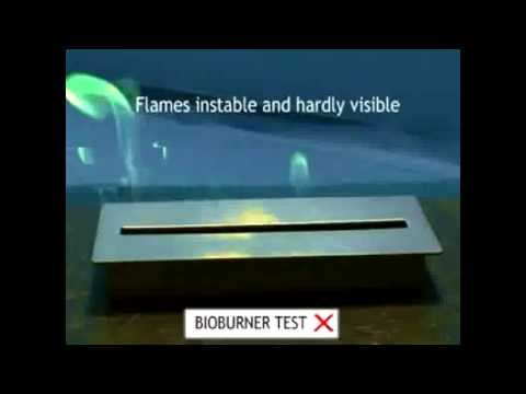 Bioethanol Fire - Open Trough vs. Prestigious Fires Ceramic Burner