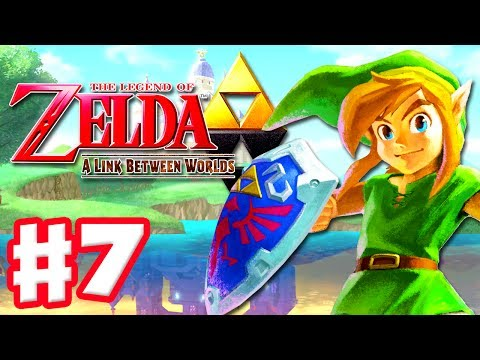 The Legend of Zelda: A Link Between Worlds - Gameplay Walkthrough Part 7 - House of Gales (3DS)