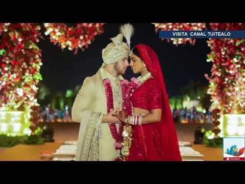 Así fue la extravagante boda de Nick Jonas y Priyanka Chopra