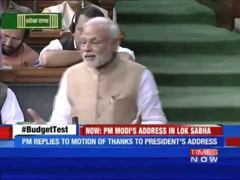 PM Narendra Modi Takes A Jibe At Congress