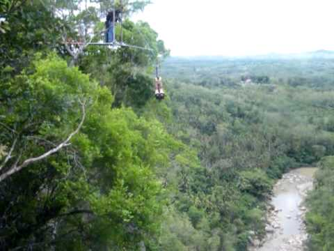 The Plunge Experience at Danao Adventure Park Bohol Philippines
