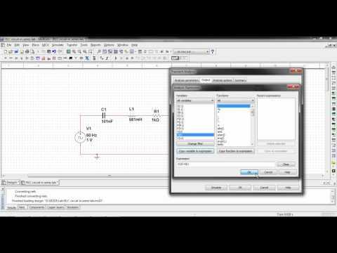 Multisim 11 Transient Analysis