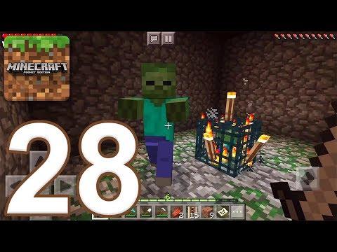 Minecraft: Pocket Edition - Gameplay Walkthrough Part 28 - Survival (iOS, Android)