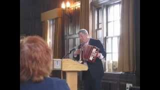 Author Lemony Snicket accepting the 2014 Charlotte Zolotow Award