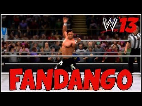 WWE 13 - FAAAAAN DAAAAN GOOOOO (WWE 13 Fandango CAW Spotlight)