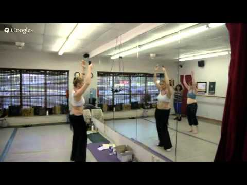 Belly Dance Drills Shimmy | Hip Sway | Figure 8 | Maya