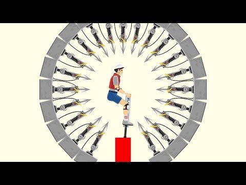99% IMPOSSIBLE HARPOON DODGE CHALLENGE! (Happy Wheels #101)