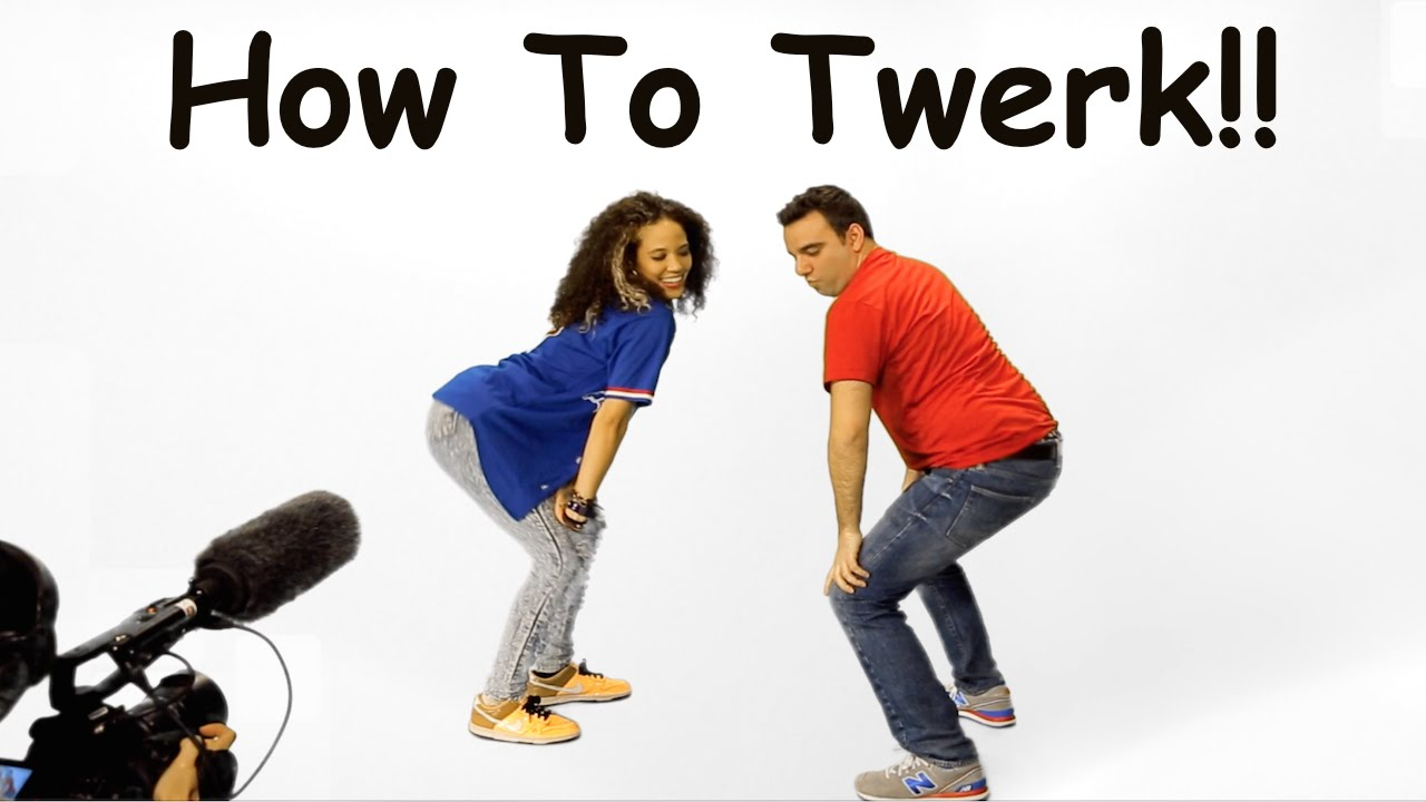 Learn to TWERK in 3 MINUTES!!  Master Class w/ Anisha Gibbs!