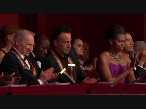Ron Kovic Speaking About Springsteen At the Kennedy Center Honors