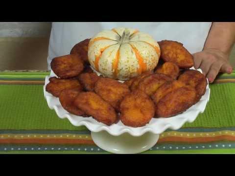 Frituras de Calabaza- Calabaza Squash Fritters [bilingual video]