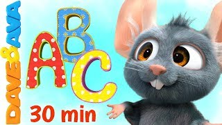 ❥ Baby Songs | ABC Song | Dave and Ava 🎶