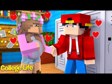 LITTLE KELLY AND ROPO ARE HAVING A BABY? | Minecraft College Life