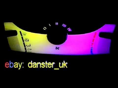 Centre console rainbow led lights kit for citroen c1 for Citroen c1 led verlichting