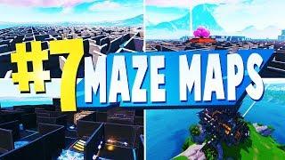 top 7 best maze creative maps in fortnite fortnite maze codes - good fortnite creative maps maze