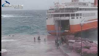 ADAMANTIOS KORAIS. : Rough sea