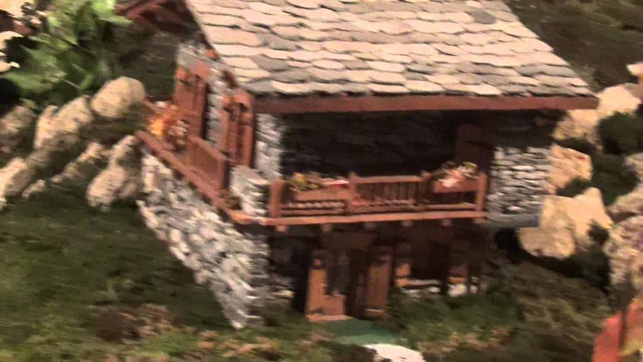 Miniatura di una casa in pietra valdieri cn 23 12 2013 youtube - Come costruire una casa in miniatura ...