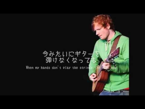 ed sheeran thinking out loud 日本語