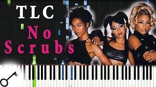 Tlc No Scrubs Piano Tutorial Synthesia Passkeypiano