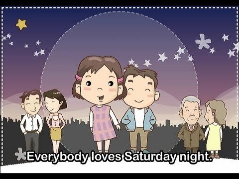 Everybody Loves Saturday Night  | nursery rhymes & children songs with lyrics