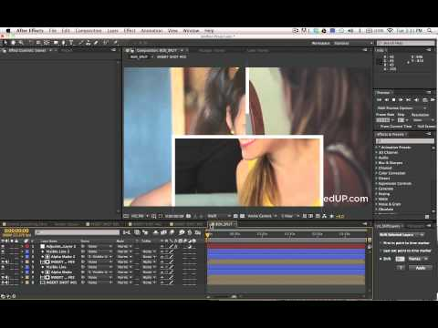 After Effects SplitScreen Tutorial