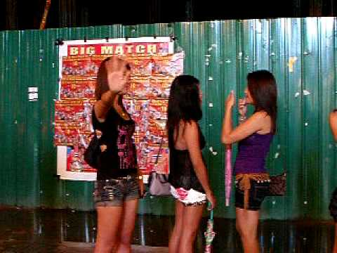 Phuket bangla road nightlife bar girls .DECEMBER 2010